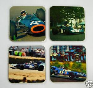 Jackie-Stewart-F1-Formel-Eins-Legende-Getrankeuntersetzer-Set
