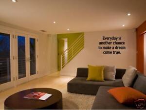 EVERYDAY-DREAM-COME-TRUE-Wall-Art-Vinyl-Decal-Home