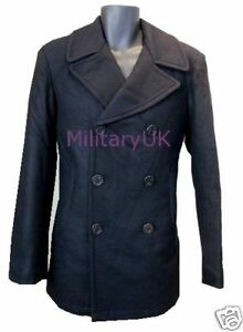 MENS-US-NAVY-STYLE-REEFER-TRENCH-WOOL-DOUBLE-BREATED-COAT-JACKET-ARMY-MILITARY