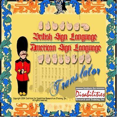 Bsl British Sign Language Tutor & Translator - Windows