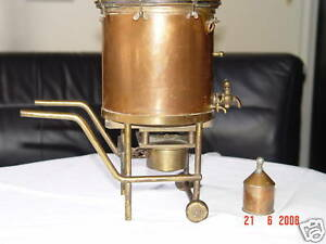 Distillerie alcool cuivre kupfer copper berlin scarce ebay - Distillerie a vendre ...