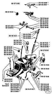 Husqvarna 298 2100 2100XP 2101XP Fuel Gas Line Hose 181