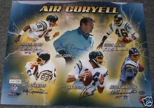 Chargers-Air-Coryell-6x-Signed-Auto-16x20-Photo-PSA-DNA