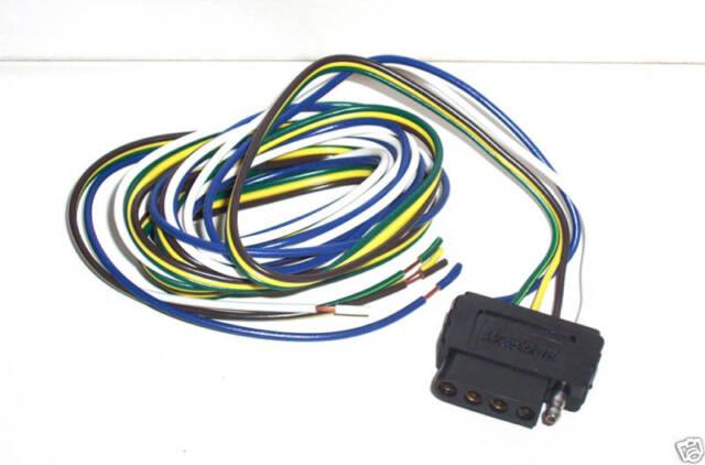 Wesbar 5 Wire Flat Car Connector 72 707273 | eBay