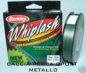 Berkley WHIPLASH 0,17 mm - 50 LB - 274 mt - trecciato - Italia - La restituzione può avvenire entro 5 giorni lavorativi. La somma pagata verrà rimborsata se l'oggetto restituito è nelle medesime condizioni dell'invio. L'oggetto non deve essere stato rimosso dall'imballo originale e non deve essere stato uti - Italia