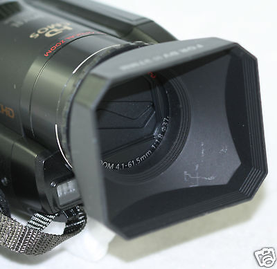 Digital Video Lens Hood For Panasonic Hdc-tm700 Tm700 Tm900 Hdc-tm900