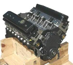 350-Chev-new-330hp-Mercruiser-Volvo-OMC-4-bolt-main-roller-cam-lifters-motor