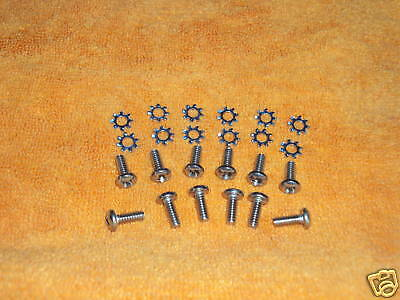 Chevy 1955 56 57 Nomad Liftgate Lowerbar Bolt Set 24pc