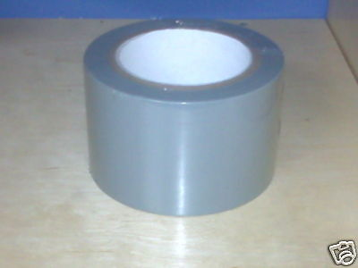 1 Roll Vinyl Tape - Gray - 3 72mm X 108 Ft