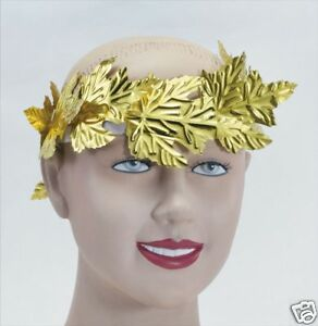 Roman-Toga-Party-Gold-Laurel-Headdress-Ceaser-Grecian-Fancy-Dress