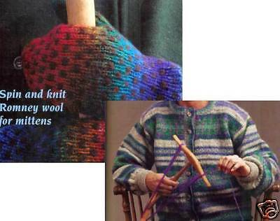 Spin-off magazine winter 2001: fair isle; mittens; rug