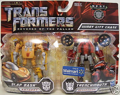 Slap Dash & Trenchmouth Transformers Rotf Scout N.e.s.t
