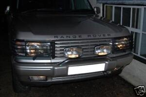 RANGE ROVER P38   FRONT FOG SPOILER LIGHT GUARDS