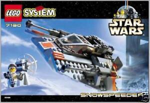 Lego Star Wars  7130 Rebel Snowspeeder New Sealed