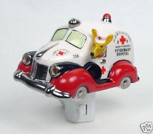 Henry-Cavanagh-K-9-Ambulance-3D-Ceramic-Car-Night-Light-Fox-Terrier-Driving