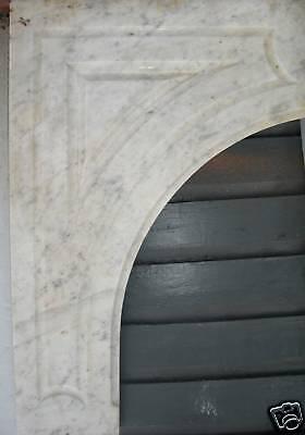 Antique CARRERRA MARBLE  Mantel #2