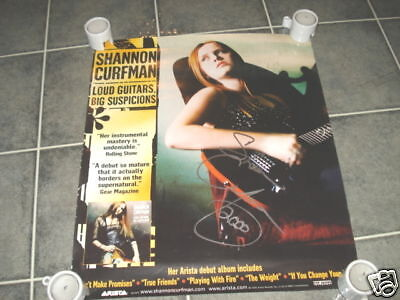 Shannon Curfman Signed Autographed 17x20 Poster Photo