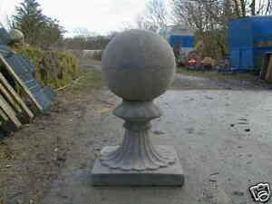 Orb Finials ( garden statue ornament  gate post top )