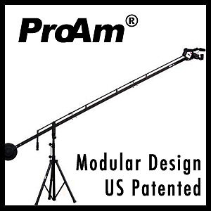 ProAm-12-8-ft-DVC200-Camera-Crane-Boom-Jib-with-4-Extension-Support-Stand