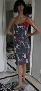 Rot Seragano Kleid Maximaler Verspielt Edel Gr 34 Grau Paris Minimalismus twggIqB