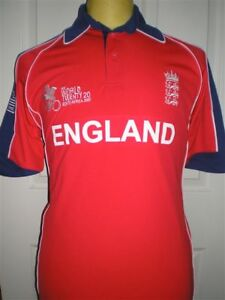 BNWT ENGLAND Twenty 20 Cricket shirt by ADMIRAL age 1314