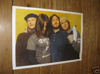 Red Hot Chili Peppers New POSTER