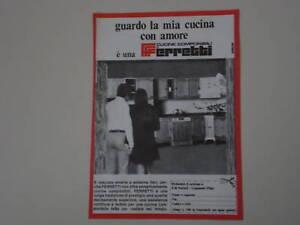 advertising pubblicita 1970 cucine ferretti