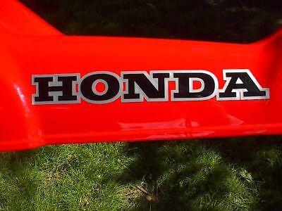Honda Logo Ct110 1983 Frame Cover Sticker Replicas Lqqk Lower Price