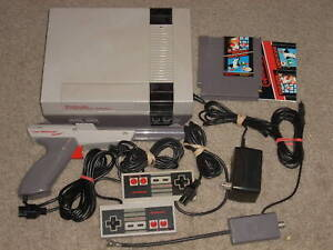 ***NINTENDO NES SYSTEM W/MARIO/DUCK HUNT & NEW 72 PIN**