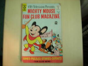 MIGHTY-MOUSE-Fun-Club-Magazine-No-4-Pines-Comics-1958