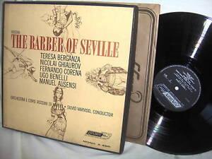 BERGANZA-BENELLI-VARVISO-BARBER-OF-SEVILLE-BOOK-UK-3LP