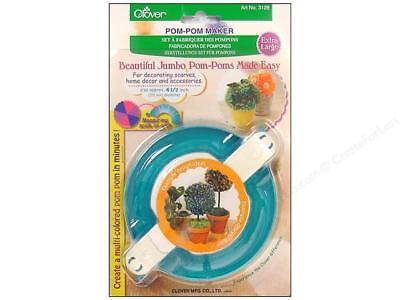 "Clover Pom Pom Maker X-Large Jumbo 4 1/2"" (115mm) item 3128"