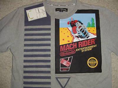 Nintendo Arcade Nes Torrel Limited Edition Rare Mach Rider Shirt Large