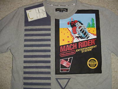 Nintendo Arcade Nes Torrel Limited Edition Rare Mach Rider Shirt Medium