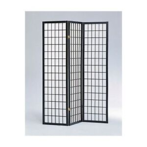 4 & 3 Panel Wood Shoji Room Divider Screen Oriental