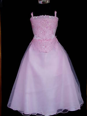 New-Flower-Girl-Party-Bridesmaid-Wedding-Pagent-Dress