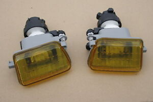 VW-MK2-Jetta-Golf-Front-Fog-Light-Lamp-Bracket-Yellow