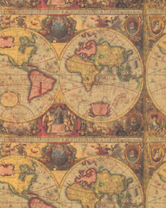 ANTIQUE-MAP-GIFT-WRAPPING-PAPER-Large-30-Roll