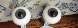 Glass-Paperweight-Doll-Eyes-24mm-Antique-Gray-Large