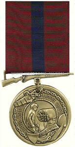 AUTHENTIC-US-MARINE-CORPS-GOOD-CONDUCT-MEDAL-RIBBON-PIN-UP-UNIFOR-DRESS-BLUE