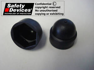 Safety-Devices-Roll-Cage-M10-Nut-Caps-Pack-of-40