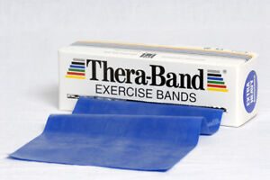 THERA-BAND-2-5-m-blau-Gymnastikband-Theraband-NEU