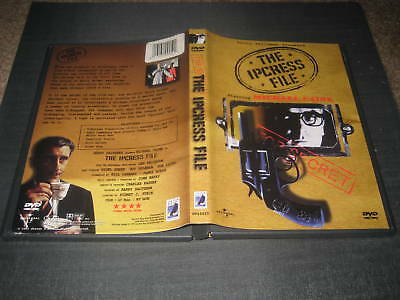 THE IPCRESS FILE DVD SPY THRILLER MICHAEL CAINE