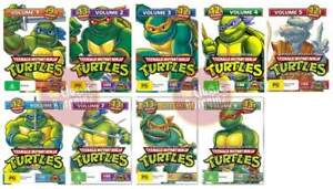 TEENAGE-MUTANT-NINJA-TURTLES-Vol-1-2-3-4-5-6-7-8-9-DVD