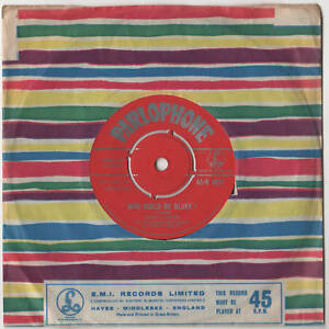 Jerry-Lordan-Who-Could-Be-Bluer-7-034-Single-1960
