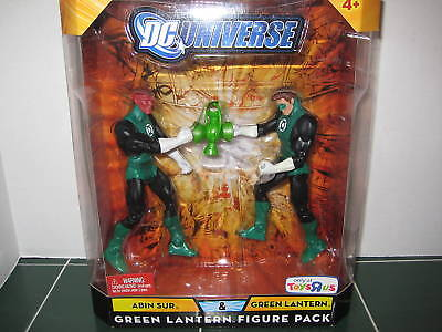 Dc Universe Abin Sur And Green Lantern Two Pack