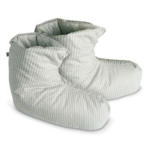 Hausschuhe Bettschuhe Daunenschuhe Hüttenschuhe Winterslipper Größe  M 32 bis 37
