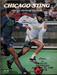 1988-Dallas-Sidekicks-MISL-Program-Chicago-Sting