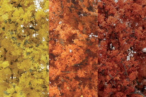 Woodland Scenics F1135. Fine Leaf Foliage- Autumn Mix.