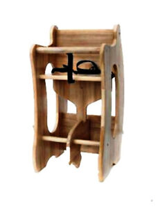 NEW-3in1-TRI-CHAIR-HIGH-CHAIR-ROCKING-HORSE-CHILD-DESK-Wood-Wooden-MSRP-139